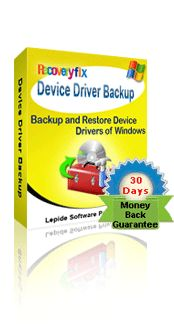Purchase Online - RecoveryFix Device Driver Backup Software