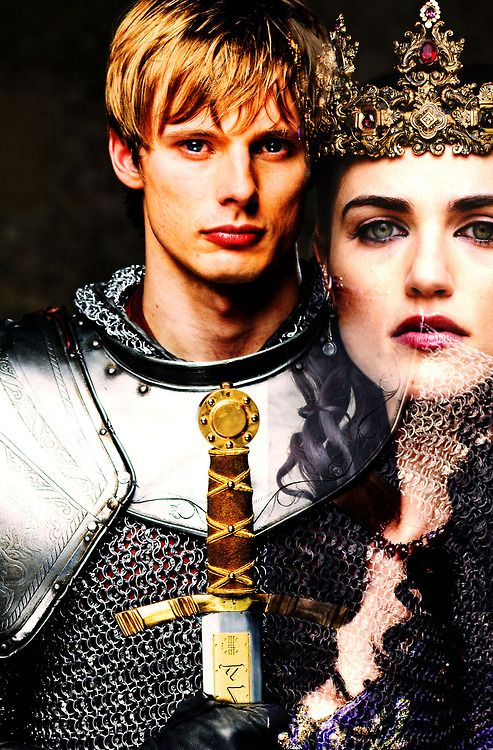 """Arthur and Morgana """"A Land of Myth and a Time of Magic: Merlin-BBC"""""""