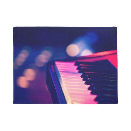 #Electric Piano Doormat - #doormats #home & #living