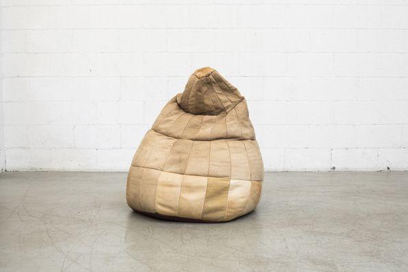 De Sede Leather Bean Bag Chair