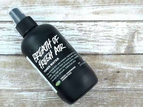 Lush Breath of Fresh Air Toner Water: Review