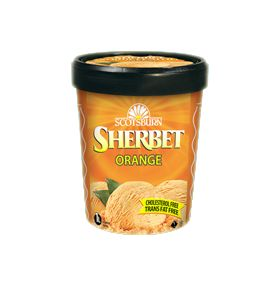 #scotsburn #icecream #sherbet #orange