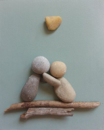 Stone people by LiseStones on Etsy