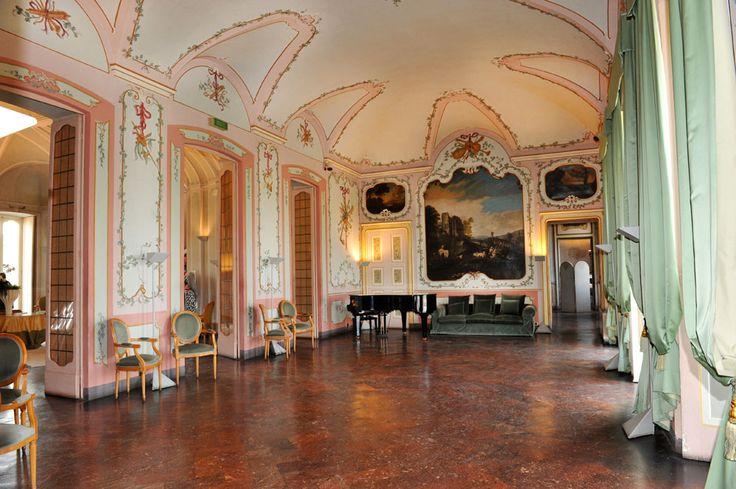 Sala dell'agricoltura Villa Borromeo Cassano d'Adda Milano