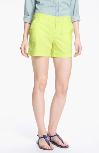 Caslon Clean Front Five-Inch Shorts  from Nordstrom