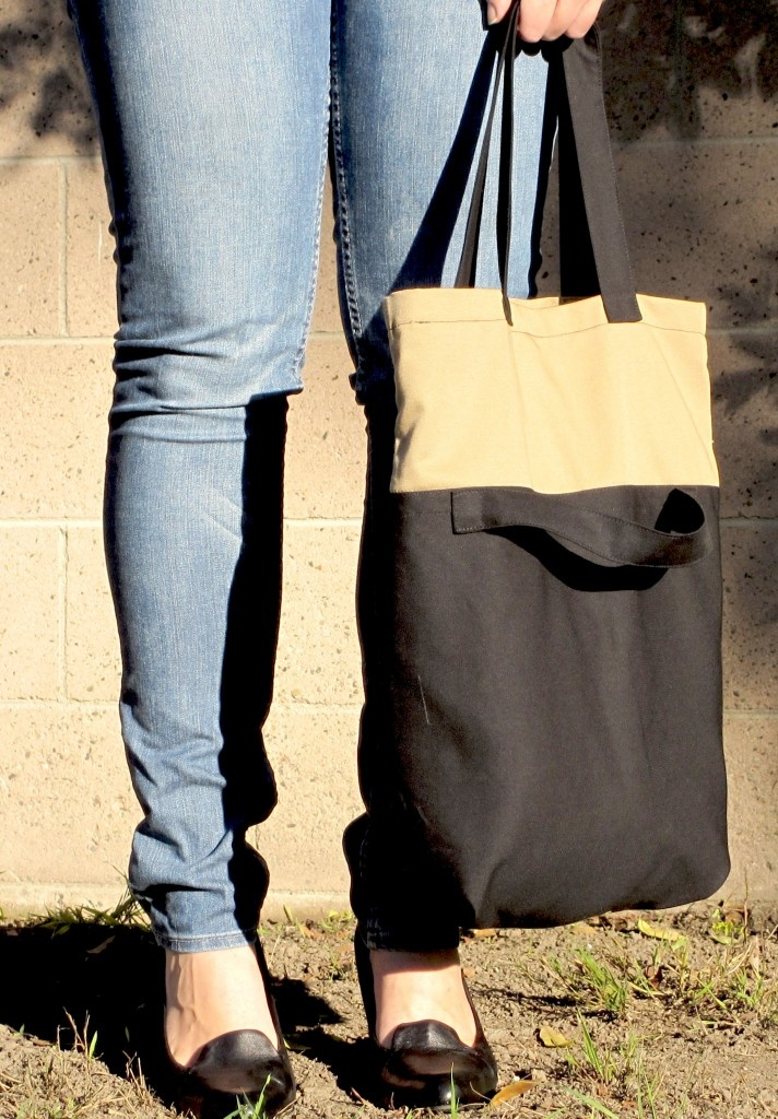 @SoldatTailoring #Recyclefashion Eco Friendly 2 Way Tote Bag #soldat