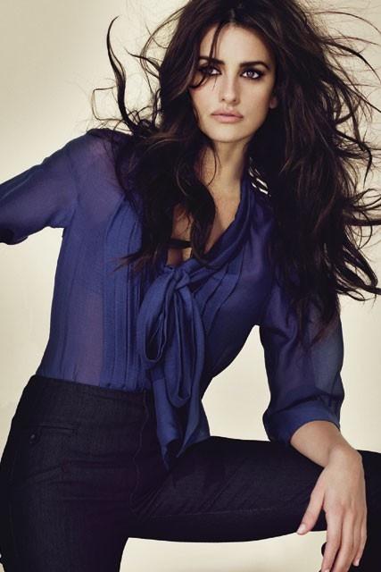 Penelope Cruz - Azul marino