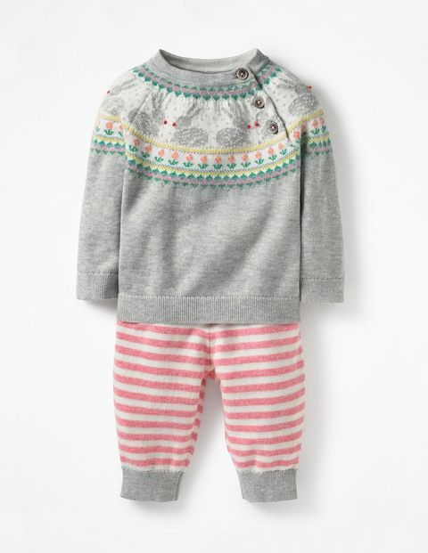 52f92cc0cee2 Fun Knitted Play Set Y0383 Rompers   Playsets at Boden