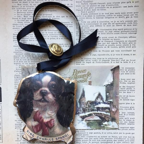 King Charles Spaniel Tree Decoration
