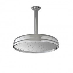 $297.41  Kohler 13693-CP 10 Inch Traditional round rain showerhead In Polished Chrome  Will be used with 90 deg. arm.  Part Number: 13693-CP