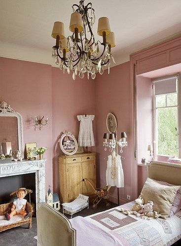 Attractive Beautiful Little Girls Room BUT Also Like The Shade Of Pink For My Room.