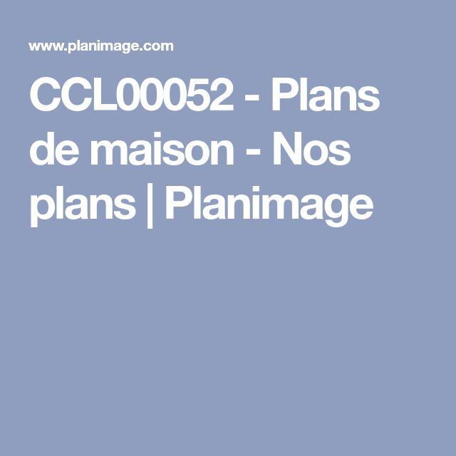 CCL00052 - Plans de maison - Nos plans | Planimage