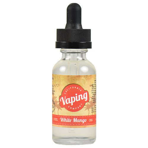 White Mango by California Vaping Company - Sweet and crisp white mango with a fresh coconut and pineapple flavor mixed to perfection.60% VG