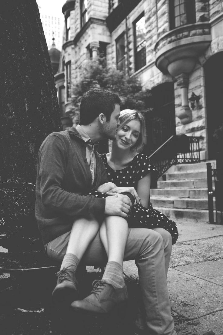 such a cute couple portrait