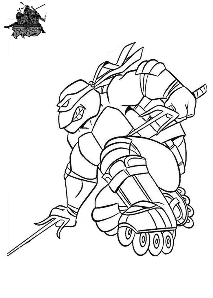 Stunning Teenage Mutant Ninja Turtles Coloring Pages Printable 57 Ninja Turtle Coloring Pages