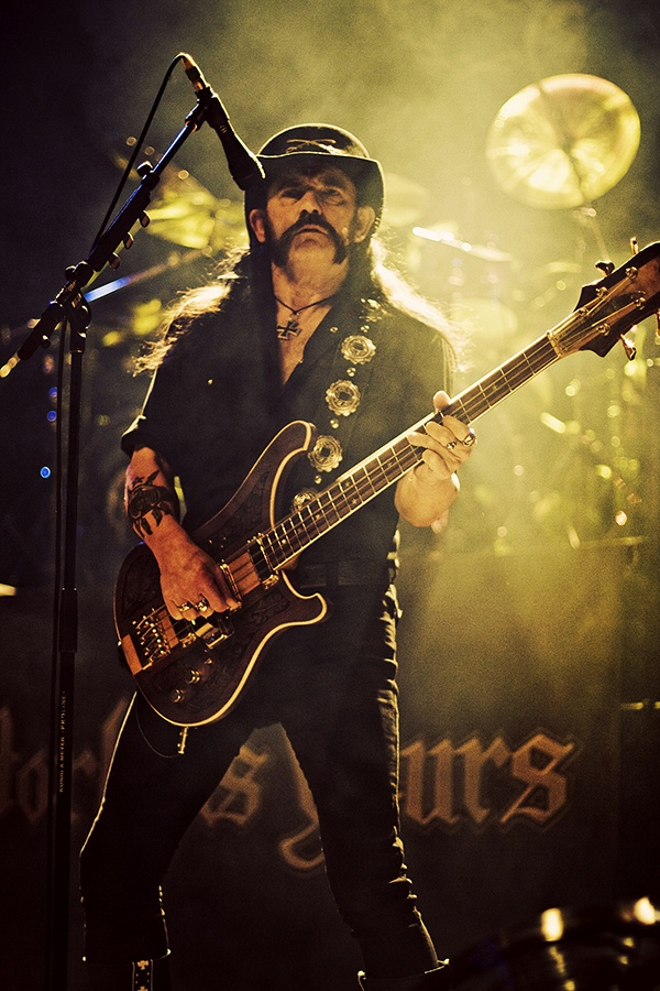Lemmy, Motorhead. Chicago. Photo by Katie Hovland