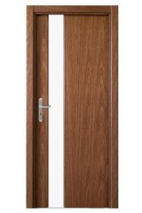 Drzwi Tokyo Doors Tokyo Trwałe, świetnie wykonane drzwi z drewna najwyższej jakości, wzbogacone o szybę.
