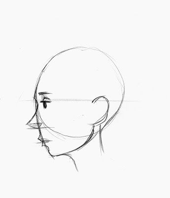 Brett Helquist: DRAWING LESSON: HOW TO DRAW A FACE IN PROFILE