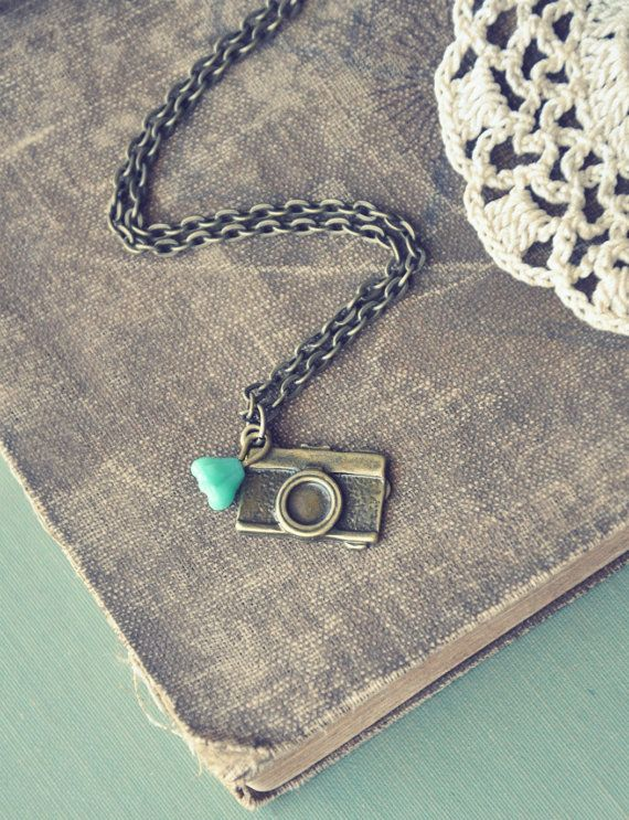 nature photographer necklace by bellehibou