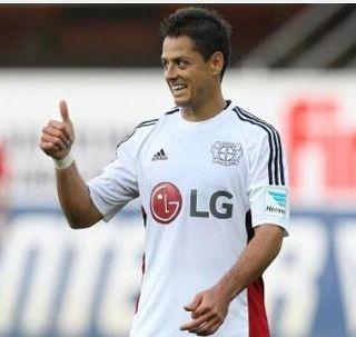 Con 2 goles de chicharito Bayer Leverkusen empato 4-4 cotra Roma