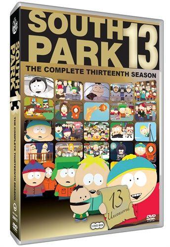 13. kausi DVD