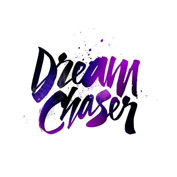 This logo has perfect colors. People normally dream at night and the blues, purples, and blacks give the image of a night sky. I also like how they have some splatter, implying that chasing dreams isn't easy and clean, that you have to get dirty and work for it.