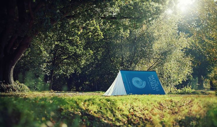 """The Natural World: The Complete Guide to Life On Earth """"Fully Booked"""" FieldCandy Tent #Glamping"""