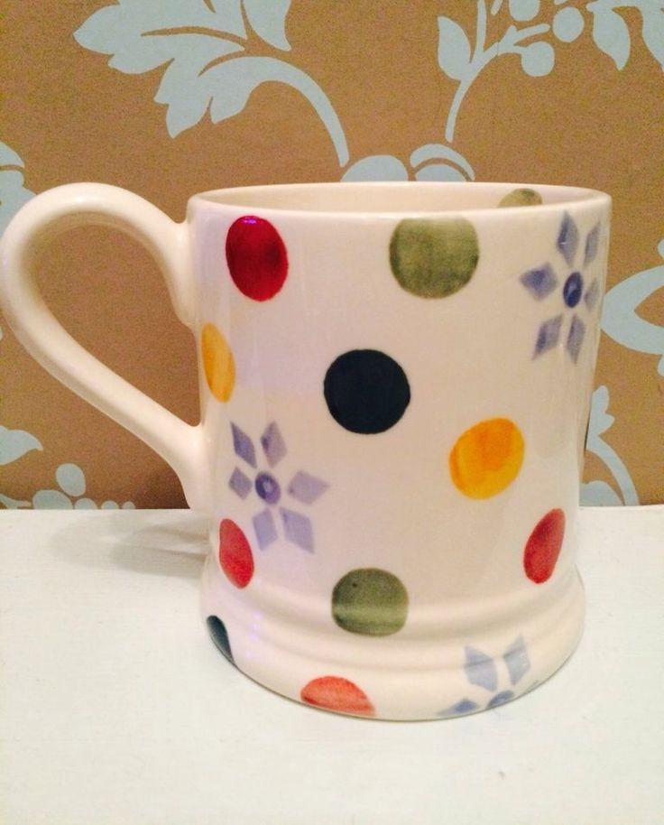 Emma Bridgewater Polka Dot SAMPLE 0.5 Pint Mug at the Collectors Event Christmas Sample Sale (03.12.14)
