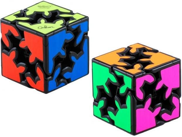 Gear Shift Cube - Meffert's Rotation Brain Teaser Puzzle