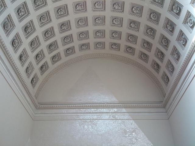 Richard Wright in Theseus Temple, Vienna