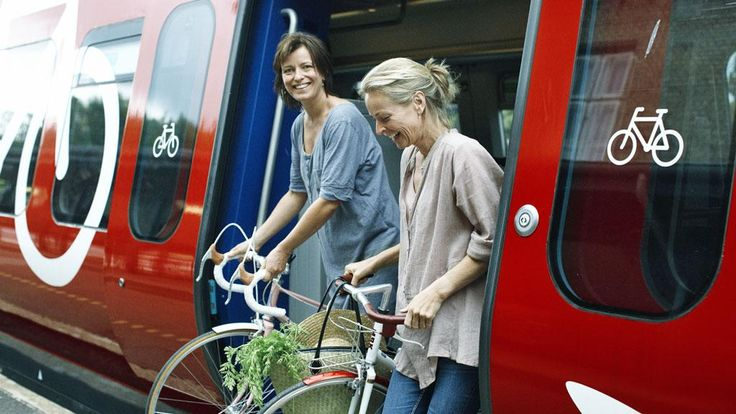 Danish trains are bicycle-friendly