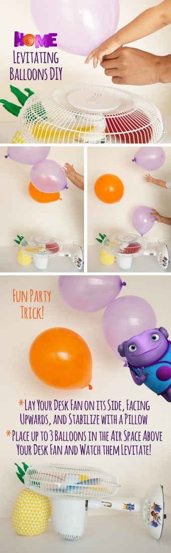 This movie looks so cute! Can't wait to have a kids birthday party with this theme Oh will create some magic in your house with levitating balloons!  Sponsored by DreamWorks.