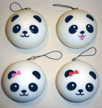 Super Squishy Panda Bun : 1000+ images about Squishies!!   on Pinterest Kawaii shop, Charms and Kawaii