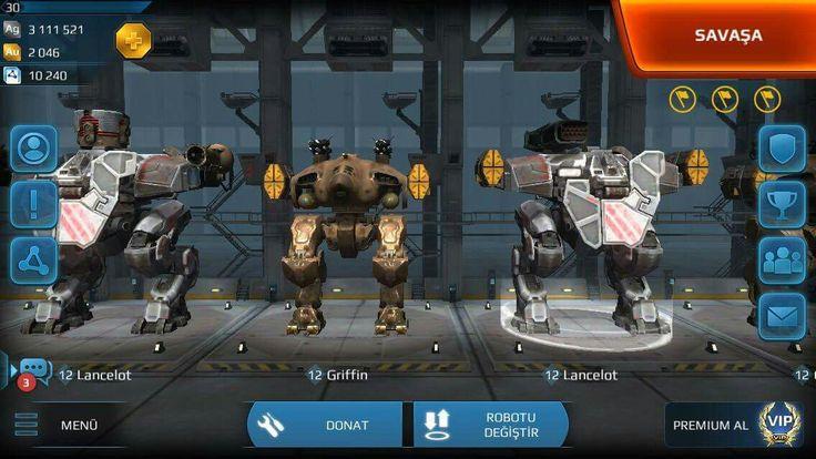 War Robots panosundaki Pin