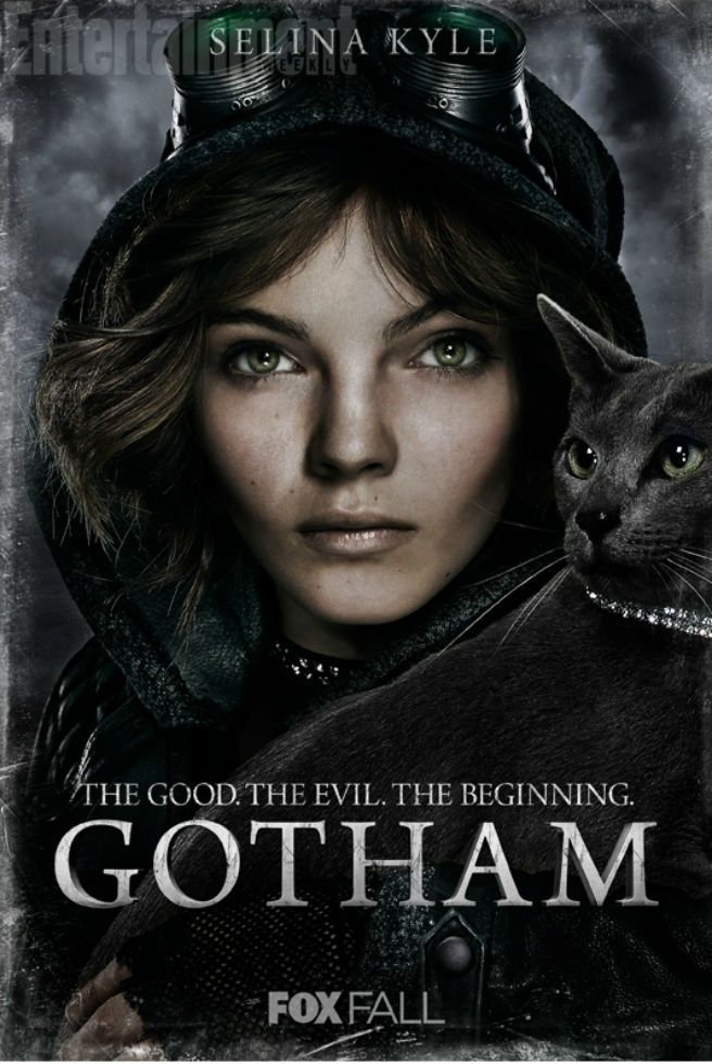 Check out eight character posters for FOX's upcoming series Gotham - Movie News | JoBlo.com