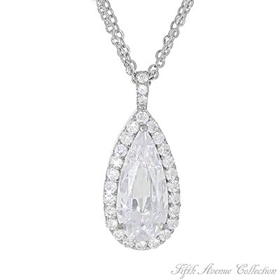 Bridal Neckpiece - Estate Jewellery by Fifth Avenue Collection. Vintage inspired pendant necklace, perfect for that bride.go to http://www.fifthavenuecollection.com/public/en-au/acentofanti    click on Jewellary Will be part of your show which starts your Jewellary Business