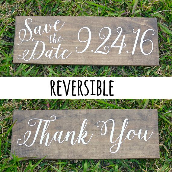 Save the Date Sign Save the Date Photo prop by WhiteAspenStudio