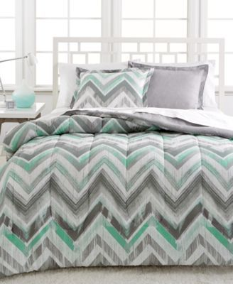 CLOSEOUT! Dylan 2-Pc. Reversible Twin Comforter Set | macys.com