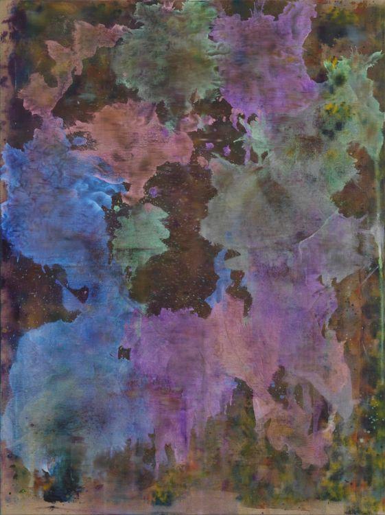 Tyra Tingleff, Untitled, 2014, oil on raw linen,120 x 90 cm http://www.tyratingleff.net/ http://www.dittrich-schlechtriem.com/ https://www.rhcontemporaryart.com/ http://www.spaziocabinet.com/