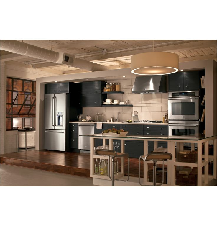 stainless steel appliance design for a modern kitchen ge appliance from Ge Stainless Steel Kitchen Appliance Package