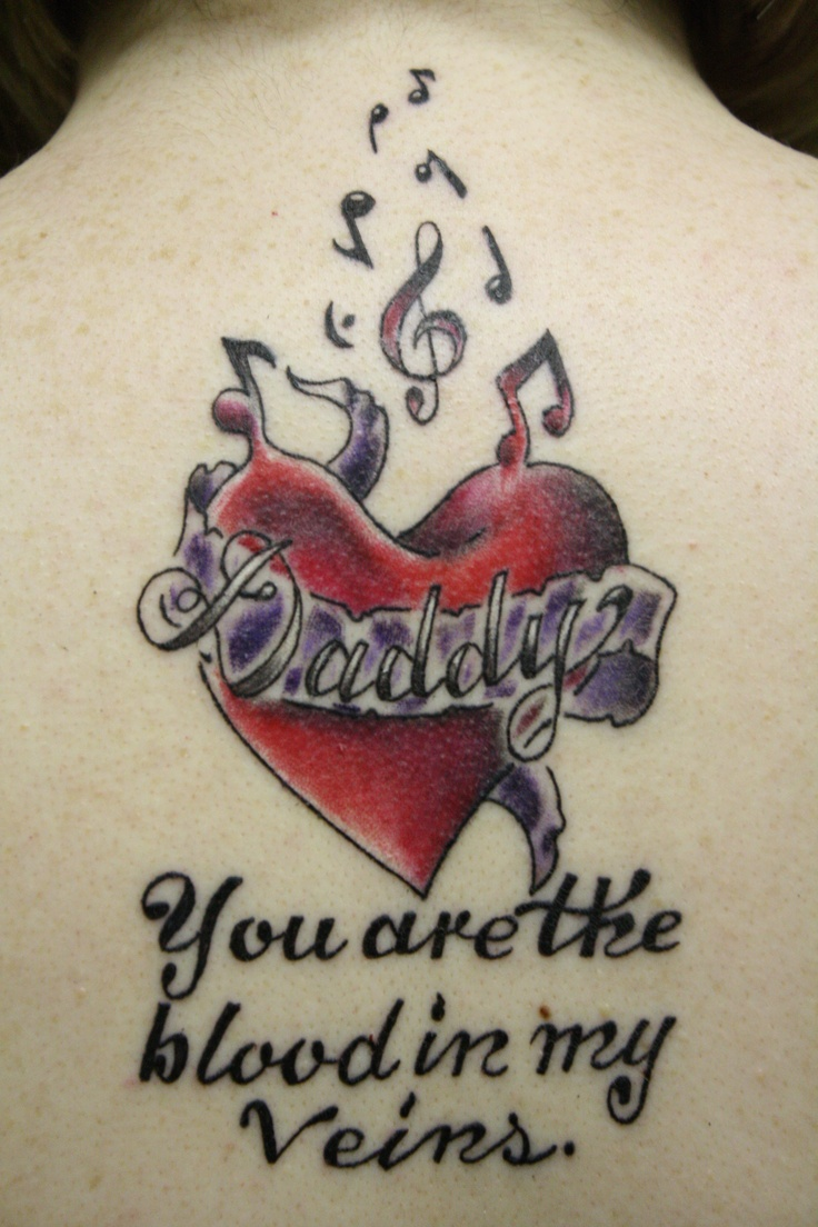 My tattoo i got for my father who passed away november 17 for Tattoos for dad that passed away