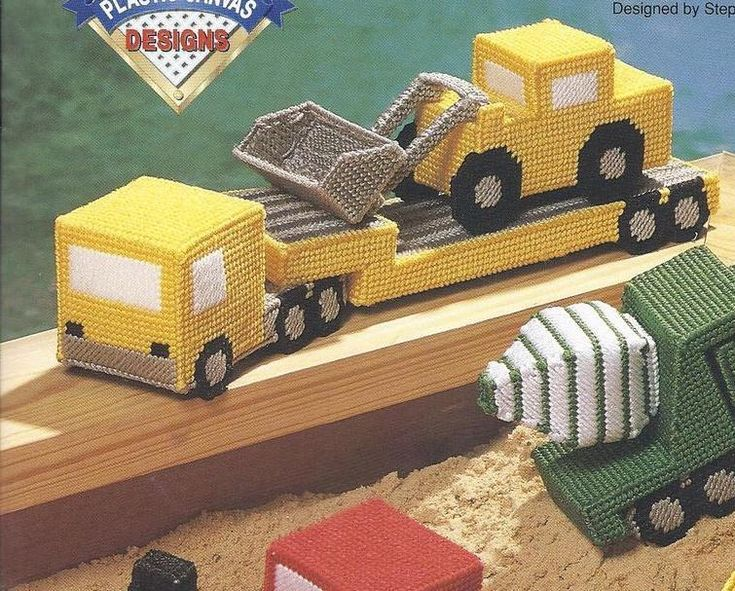 everything plastic canvas | NCS MAXI TRUCKS PLASTIC CANVAS PATTERNS OOP - Plastic Canvas Patterns