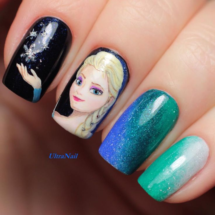 Sleeping Beauty Nail Art: 211 Best Images About Disney Inspired Nails And Makeup On