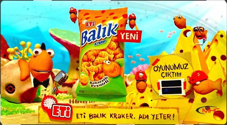 Eti Balık Kraker Reklam Filmi | Peynirli Baharatlı