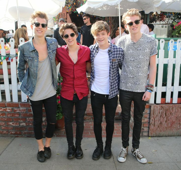 The Vamps Hit The Ivy After Swift Visit - http://oceanup.com/2014/02/25/the-vamps-hit-the-ivy-after-swift-visit/