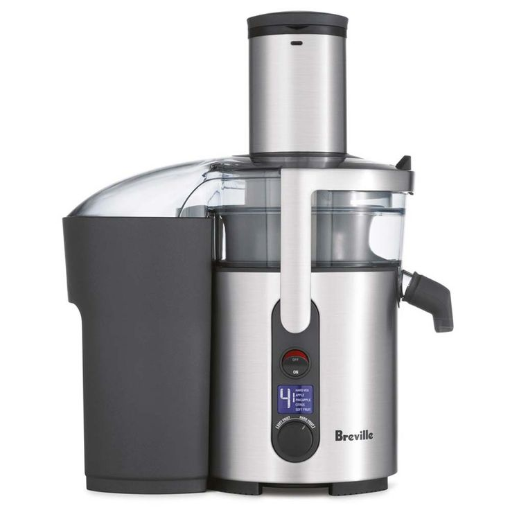 Breville Juicer Electric Centrifugal Fountain Heavy Duty Stainless Steel Fruit