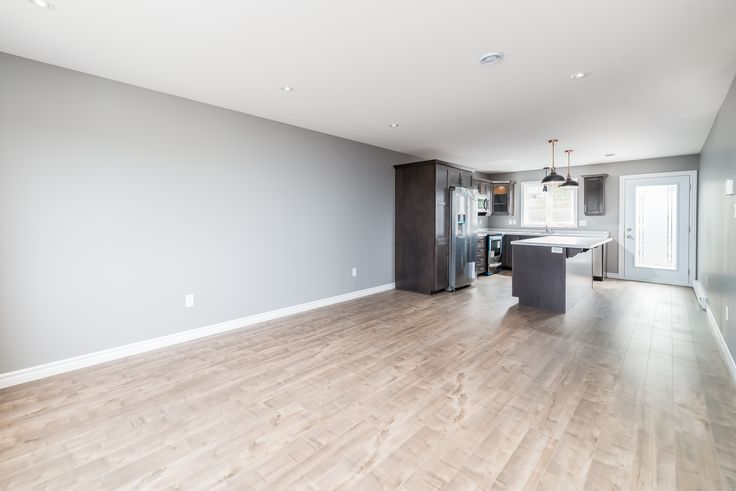 Lots of room for a modern open concept living area in this Providence+Ensuite design