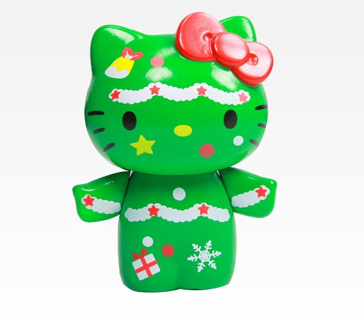 Hello Kitty Collectable Figurine: Christmas Tree