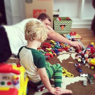 Tip: Do a toy inventory to keep the clutter down and decrease cleaning times | 14 Ways for Working Moms to Keep Their Sanity in 2014