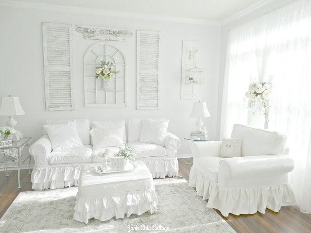 Junk Chic Cottage: Living Room Reveal
